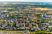aerial photo, aerial pictures, Arboga, drone aerial, evening light, städer, Västmanland