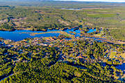 aerial photo, aerial pictures, Dalarna, drone aerial, Eajra, Idre, samhällen, spring, Synnanåt
