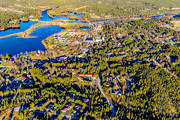 aerial photo, aerial pictures, airfield, Dalarna, drone aerial, Eajra, Idre, samhällen, spring