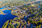 aerial photo, aerial pictures, airfield, Dalarna, drone aerial, Idre, samhällen, spring
