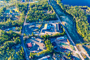 aerial photo, aerial pictures, Dalarna, drone aerial, Idre, samhällen, spring