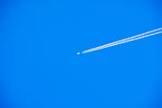 aeroplane, aviation, blue, blue, communications, condensation streak, fly, general aviation, sky, transport, travel, travels