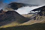 Alkavagge, alpine, landscapes, Lapland, Laponia, mountain, mountain peaks, mountain top, mountains, Sarek, Sarek nationalpark, Sarekfjäll, summer