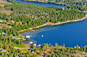 aerial photos, aerial picture, aerial pictures, Angermanland, cabins, flygbilder, summer