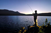 alpine water, mountain water, angling, evening, evening fishing, fishing, mountain, mountain fishing, mountain lake, Munsvattnet, reel, reel fishing, spin fishing, spinning, summer, summer evening
