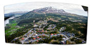 aerial photos, aerial picture, aerial pictures, Are, Areskutan, flygbilder, installations, Jamtland, landscapes, panorama, panorama pictures, samhällen, summer