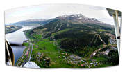aerial photo, aerial photo, aerial photos, aerial photos, Are, Are valley, Areskutan, drone aerial, drönarfoto, Indal river, Jamtland, landscapes, panorama, panorama pictures, samhällen, summer