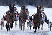 Are, Are lake, horse, horses, ice trot, sport, travhästar, travsport, trot, various, warm blooded, winter