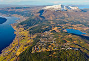 aerial photos, aerial picture, aerial pictures, Are, Areskutan, autumn, Bear, Copperhill, flygbilder, Jamtland, landscapes, swedish mountains