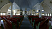 Arjeplog, buildings, church, church, churches, engineering projects, interior, Lapland