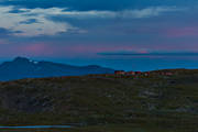 alpine, alpine hiking, alpine landscape, Blåhammaren, Blåhammarens fjällstation, dusk, högfjällen, Jamtland, kvälljus, landscapes, mountain, mountains, nature, outdoor life, seasons, sommarfjäll, summer, Swedish Tourist Association, sylarna