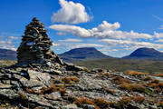 alpine, alpine hiking, alpine landscape, Blåhammaren, Blåhammarkläppen, getryggen, högfjällen, Jamtland, landscapes, mountain, mountains, nature, outdoor life, seasons, Snasa Mountains, Snasamassivet, Snasen, sommarfjäll, summer, top cairn, tvaraklumpen