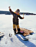 angling, boy, children, fishing, fishing fortune, ice fishing, ice fishing, whitefish, whitefish fishery, winter fishing