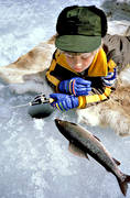 angling, boy, fish, fishing, fishing fortune, grayling, ice fishing, ice fishing, ice fishing, jig, dap, winter fishing