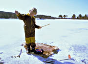 angling, boy, fishing, ice fishing, ice fishing, ice fishing, jig, dap, kry, kryfiske, whitefish, winter fishing