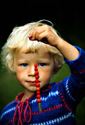 berries, berry picking, boy, happiness, happy, joy, summer, wild strawberries, äventyr