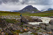alpine, alpine hiking, back-packing, bridge, jokk, landscapes, Lapland, mountain, mountain, mountain top, mountains, nature, outdoor life, Sarek, Sarek nationalpark, Sarekfjäll, Smailabron, Smajllajåkå, smajllaträffen, summer, wild-life, äventyr