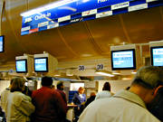 air trip, airport, Arlanda, aviation, check-in, checking-in, commercial, communications, fly