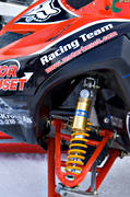 attenuator, motor sport, motor sports, shock-absorber, snowmobile, snowmobile, winter, äventyr