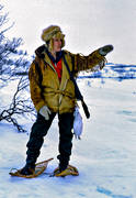 alpine hunter, bergstrand, hunter, hunting, mountain, trapper, trappern bergstrand, trapping, white grouse hunter, winter