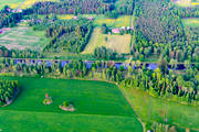 aerial photo, aerial pictures, attractions, channel, communications, drone aerial, Göta kanal, installations, Jonsboda, landscapes, summer, Västergötland, water