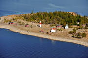 aerial photo, aerial photo, aerial photos, aerial photos, autumn, drone aerial, drönarfoto, Gasoren, landscapes, lighthouse, Skelleftehamn, West Bothnia