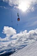 Are, cableway, funicular, gondola, installations, Jamtland, lift, mountain, samhällen, view