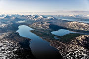aerial photos, aerial picture, aerial pictures, fjällbilder, flygbilder, landscapes, Lapland, summer, swedish mountains
