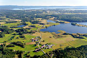 aerial photos, aerial picture, aerial pictures, farms, flygbilder, Halsingland, landscapes, summer