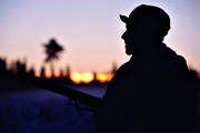 dusk, evening, general hunting, hunting, marksman, passage
