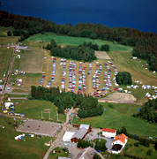 aerial photo, aerial pictures, culture, drone aerial, fair, Faviken, hunting, hunting fair, parking-lot, present time