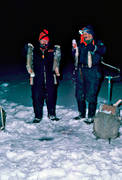 angling, burbot fishing, fishing, ice fishing, ice fishing, lake, night fishing, winter fishing