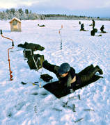 angling, fishing, ice fishing, ice fishing, Lockne lake, Musviken, whitefish, winter fishing