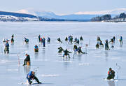 angling, fishing, Great Lake, ice fishing, ice fishing, ice fishing competition, Ostersund, perch, perch fishing, winter