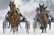 Are, Are lake, coachmen, horses, ice trot, sport, trot, various, winter