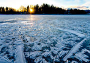 canvastavla, formationer, fototavla, frozen, ice, ice-art, isformationer, lake, lake ice, natural art, nature, pattern, tavla