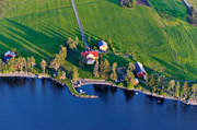 aerial photos, aerial picture, aerial pictures, cabins, flygbilder, Jamtland, summer
