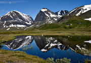 alpine, alpine station, Kebnekaise, landscapes, Lapland, mountain, mountain, mountain top, mountains, nature, summer, tuolpagorni