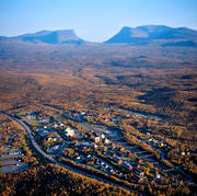 Abisko, aerial photo, aerial pictures, autumn, drone aerial, landscapes, Lapland, Lapporten, mountain pictures