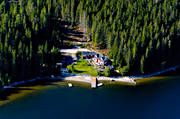 aerial photos, aerial picture, aerial pictures, Angermanland, cabins, cottage, flygbilder, Fällön, leisure house, sandy, summer, summer cottage