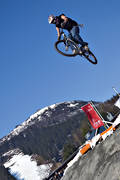 Are, bicyclist, bike, biking, jump, mountainbike, summer, äventyr