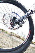 attenuator, bike, bike, biking, hjul, mountainbike, shock-absorber, spoke, spokes, summer, tire, äventyr