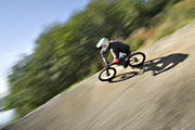 bicyclist, bike, bike, biking, downhill, mountainbike, speed, summer, äventyr