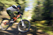 bicyclist, bike, bike, biking, jump, mountainbike, mtb, speed, speed, summer, äventyr