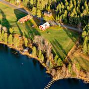 aerial photo, aerial pictures, autumn, drone aerial, farms, flygfoton, Jamtland, Norrböle