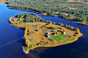 aerial photo, aerial pictures, autumn, drone aerial, farms, landscapes, North Bothnia