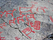 ancient monuments, antiquity, culture, Glösa, hunting, petroglyph, petroglyphs, runor, stone age, trapping