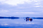 angling, blue, boat fishing, fishing, Indal river, outdoor life, reel, rowing-boat, spin fishing, summer, äventyr
