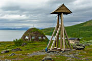 buildings, Lapland, national park, Padjelanta, sami church teepee, Staloluokta, teepee, teepee