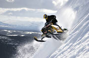 free-skating, jump, jumping, motor sports, mountain, scooter, scooters, snow, snow scooters, snow-spray, snowmobile, snowmobile, winter, äventyr